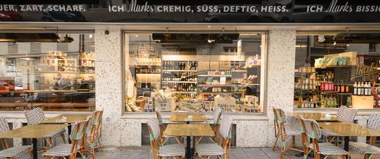HEATSCOPE Heizloesung fuer Gastronomie, Hotels, Restaurants, Café Marks, Muenchen