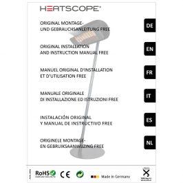 HEATSCOPE FREE: Bedienungsanleitung