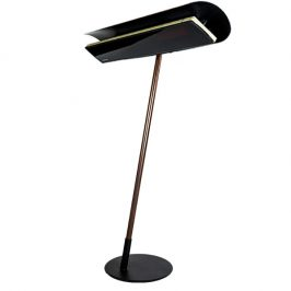 HEATSCOPE FREE, Design-Standloesung, Black/Wood plus VISION BK