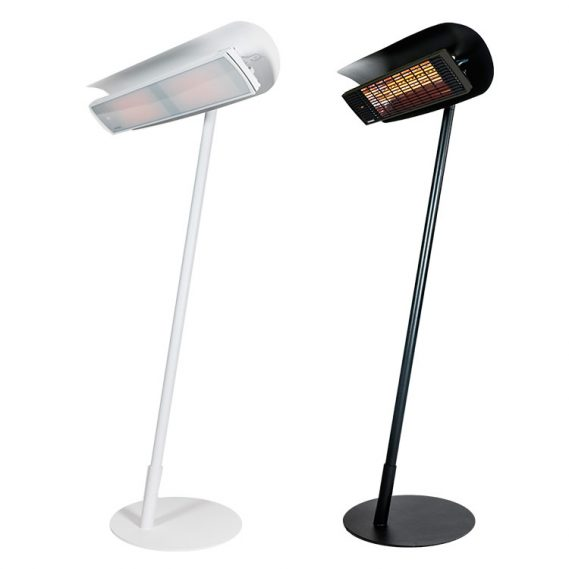 HEATSCOPE FREE design stand solution for infrared heaters