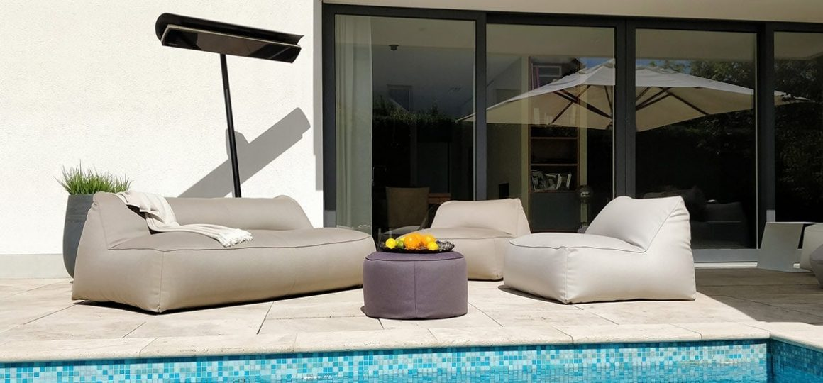 HEATSCOPE Free Design-Standloesung am Pool, Privat-Anwesen Brunnthal