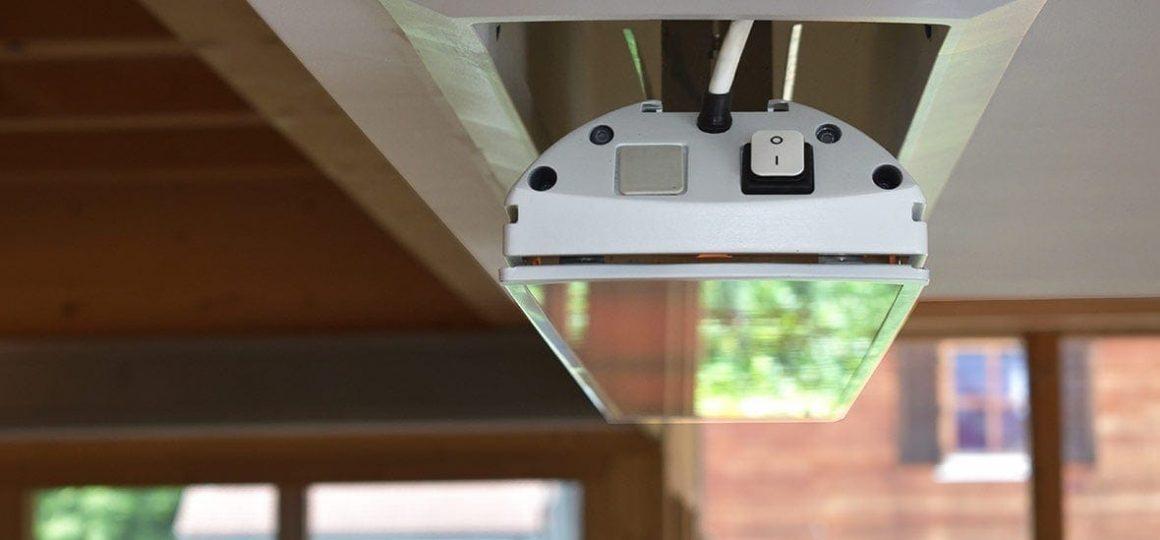 HEATSCOPE Lift, flush mounted heater, Germany