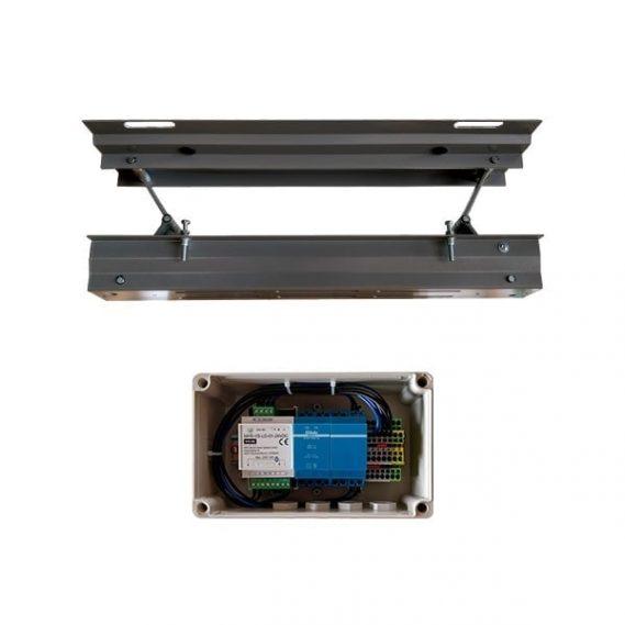 HEATSCOPE LIFT fuer den deckenbuendigen Einbau (Hubsystem mit Steuerungsbox)