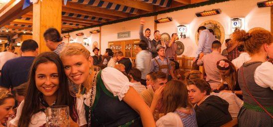 HEATSCOPE SPOT, Heizstrahler-Installation, Schuetzenfestzelt, Oktoberfest