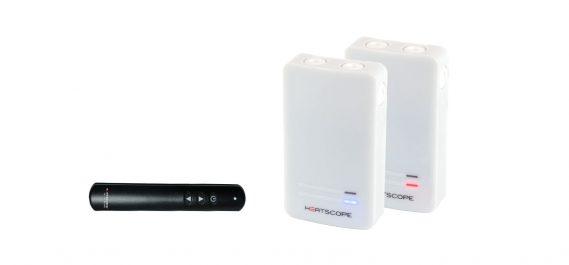 HEATSCOPE SmartBox White, incl. remote control