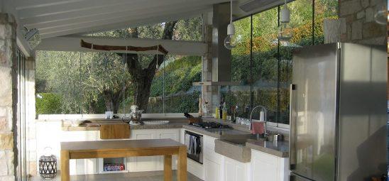HEATSCOPE VISION, Heizstrahler im Gartenhaus, Modena, Italien