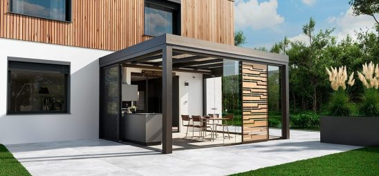 HEATSCOPE VISION, Heizstrahler im Glashaus/Wintergarten, Muenster
