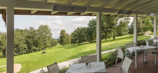HEATSCOPE VISION, Heizstrahler-Installation im Golfclub Maxlrain