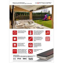 HEATSCOPE VISION + SPOT: Vorteile, USP-Sheet