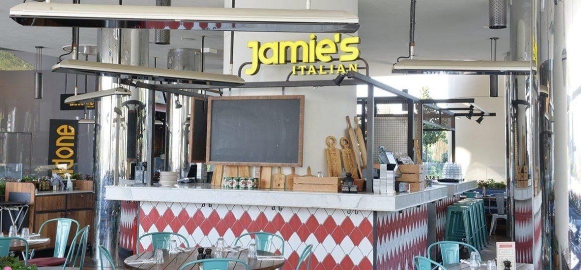 HEATSCOPE Vision ambient heater at Jamie's Italian Restaurant, Istanbul