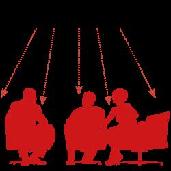 Infrarot-Heizstrahler Heizschema